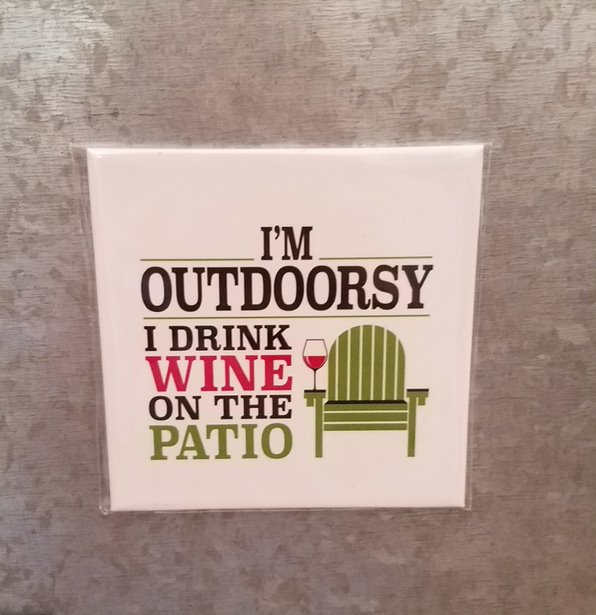 I'm Outdoorsy Magnet